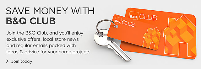 Join the B&Q Club today