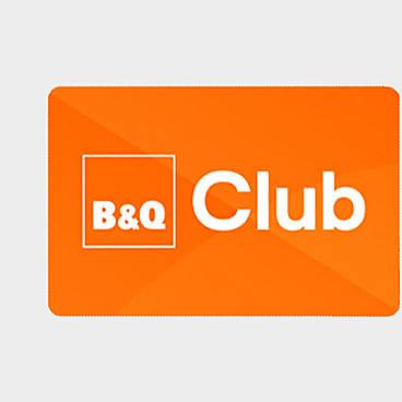 B&Q Club card