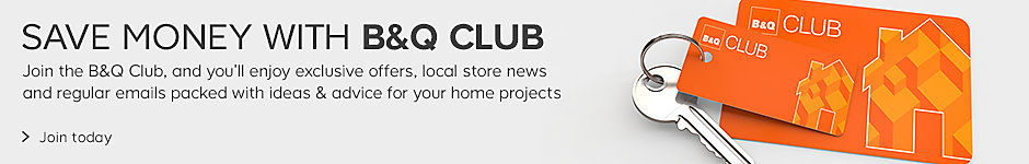 Save money with B&Q club