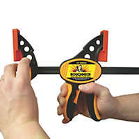 Roughneck Ratcheting Bar Clamp