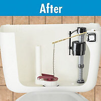Fluidmaster Black Plastic Cistern conversion kit