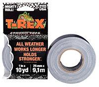 T-Rex Grey Duct tape (L)9.14m (W)25mm