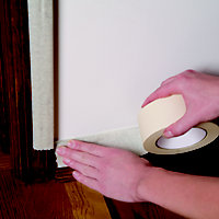 Duck All purpose Cream Masking tape (L)50m (W)25mm