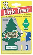 Little Trees Vanilla aroma Air freshener, Pack of 3