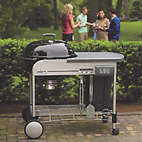 Weber Performer® deluxe GBS Black Charcoal Barbecue