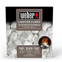 Weber Lighter cube 0.3kg Bag