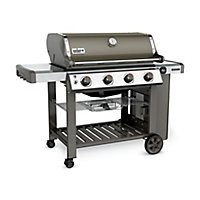 Weber Genesis® II E410™ GBS™ Smoke grey Gas Barbecue