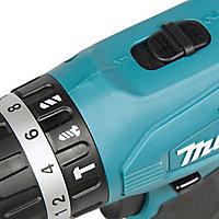 Makita G-Series Cordless 18V 1.5Ah Li-ion Combi drill 2 batteries HP457DWEX2