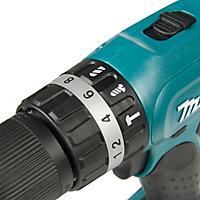 Makita LXT Cordless 18V 3Ah Lithium-ion Combi drill 2 batteries DHP453SFE