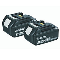Makita LXT 18V 3Ah Li-ion Cordless Combi drill 2 batteries DHP485SFE