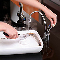 InSinkErator Chrome effect Filtered hot & cold water tap