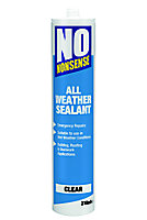 No Nonsense Ready to use All weather Clear Sealant, 310ml