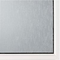 2 panel White PVCu Glazed Back door & frame RH, (H)2055mm (W)840mm