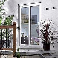 Richmond Double glazed White uPVC Reversible Sliding Patio Door panel, (H)2050mm (W)1790mm