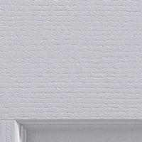 4 Panel Primed White Woodgrain effect Unglazed Internal Bi-fold Door, (H)1950mm (W)750mm