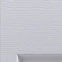 6 panel Primed White Woodgrain effect Internal Bi-fold Door set, (H)1950mm (W)750mm