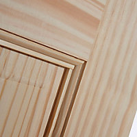 6 panel Clear pine LH & RH Internal Door, (H)1981mm (W)838mm