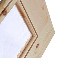 Fully glazed 15 Lite Knotty pine Internal Door, (H)1981mm (W)762mm