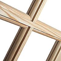 15 Lite Glazed Knotty pine LH & RH Internal Door, (H)1981mm (W)762mm
