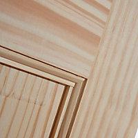 6 panel Clear pine LH & RH Internal Door, (H)1981mm (W)610mm