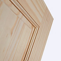 6 panel Clear pine LH & RH Internal Door, (H)1981mm (W)610mm