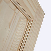 6 panel Clear pine LH & RH Internal Door, (H)2032mm (W)813mm