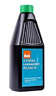 B&Q 4 stroke Lawnmower Oil 1000ml