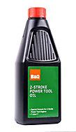 B&Q 2 stroke Power tool Oil 1000ml