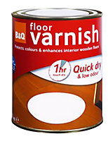 Colours Clear Gloss Floor Wood varnish, 2.5L