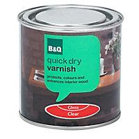 Clear Gloss Furniture Wood varnish, 0.25L