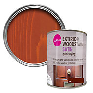 Colours Oak Satin Woodstain 0.75L