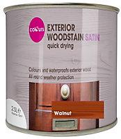 Colours Walnut Satin Woodstain 2.5L