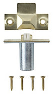 Brass-plated Metal Adjustable Roller catch