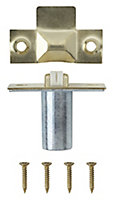 Brass-plated Metal Adjustable Roller catch