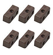 Brown Steel Assembly joint (L)34mm, Pack of 24