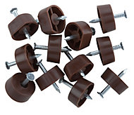 B&Q Brown Metal Shelf support