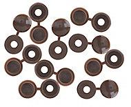 Brown Screw cap, Pack of 10