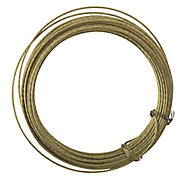 Brass-plated Light duty Picture hook wire (L)6000mm