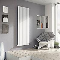 Ximax Vertirad Vertical/horizontal Designer radiator White (H)1500 mm (W)595 mm
