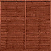 Colours Timbercare Dark brown Fence & shed Wood stain, 9L