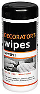 Unscented Decorators wipes, Pack of 50