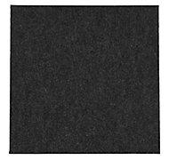 Colours Grey Loop Carpet tile, (L)50cm, Pack of 10