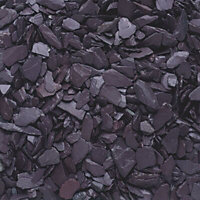 Blooma Blue 20mm Slate Decorative chippings, Large Bag