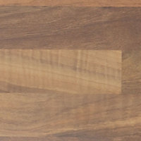 IT Kitchens Oak effect Laminate Upstand (L)3050mm