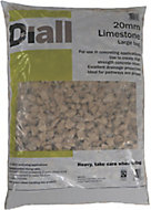 Diall 20mm Limestone Chippings, Large Bag