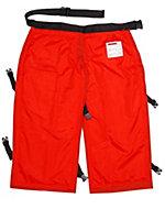 B&Q Orange Chainsaw leggings One size