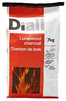 Diall Lumpwood charcoal 7kg