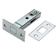 B&Q Chrome effect Locking bolt