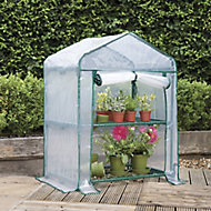 B&Q PVC 2 Tier Growhouse