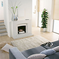 Peek Trieste White Fireplace surround set